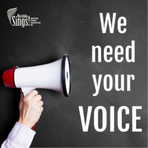 We Need Your Voice